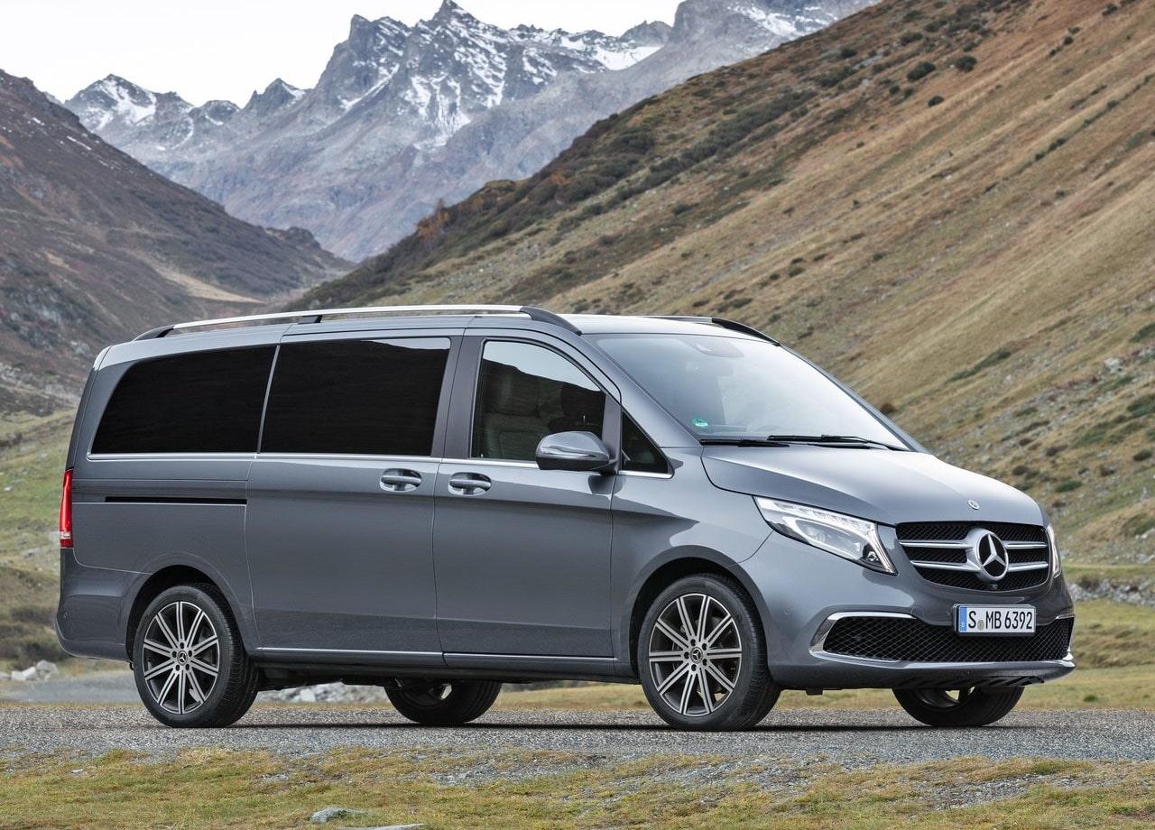 Mercedes-Benz V фото сбоку