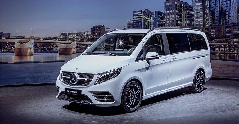 Mercedes-Benz V фото