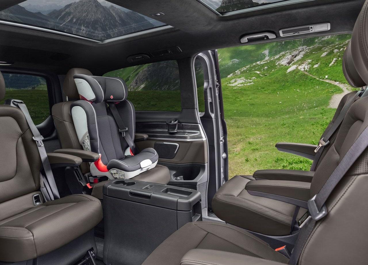 Mercedes-Benz V пассажирский салон