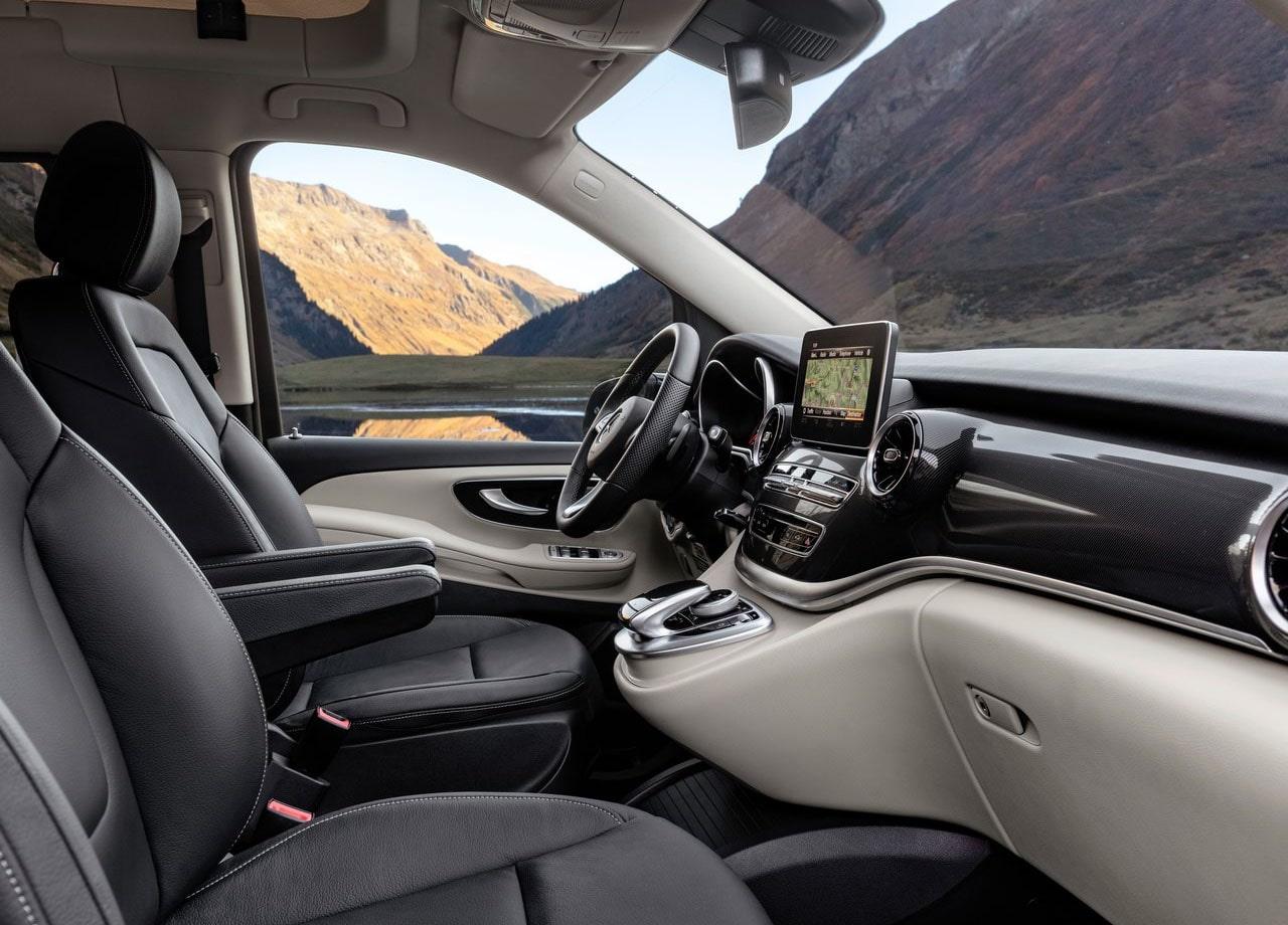 Mercedes-Benz V передние сидения