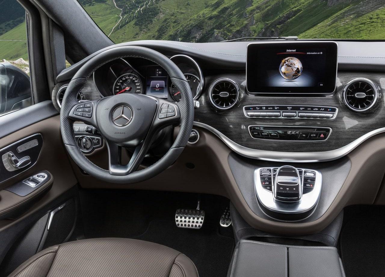 Mercedes-Benz V руль