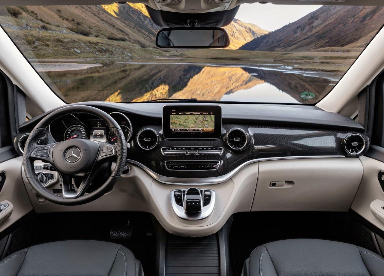 Mercedes-Benz V салон