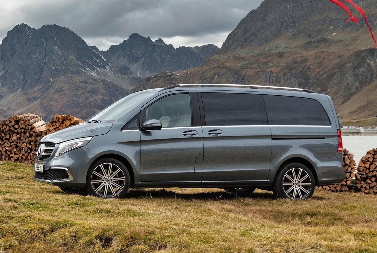 Mercedes-Benz V вид сбоку