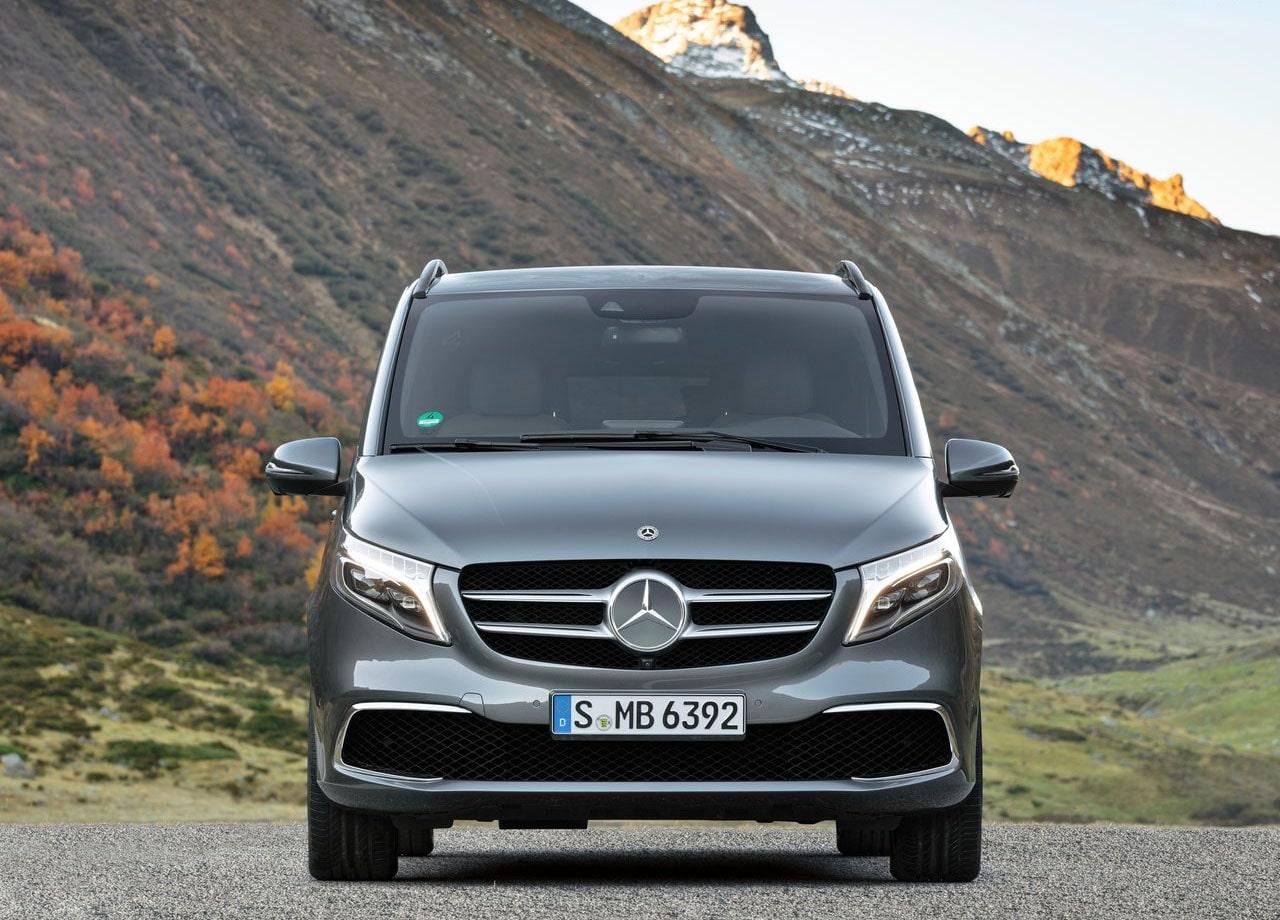 Mercedes-Benz V вид спереди