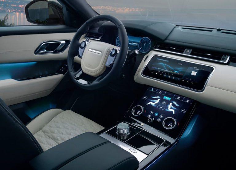 Range Rover Velar передние сидения