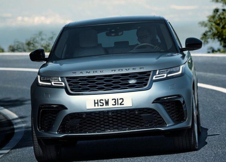 Range Rover Velar фото бампер