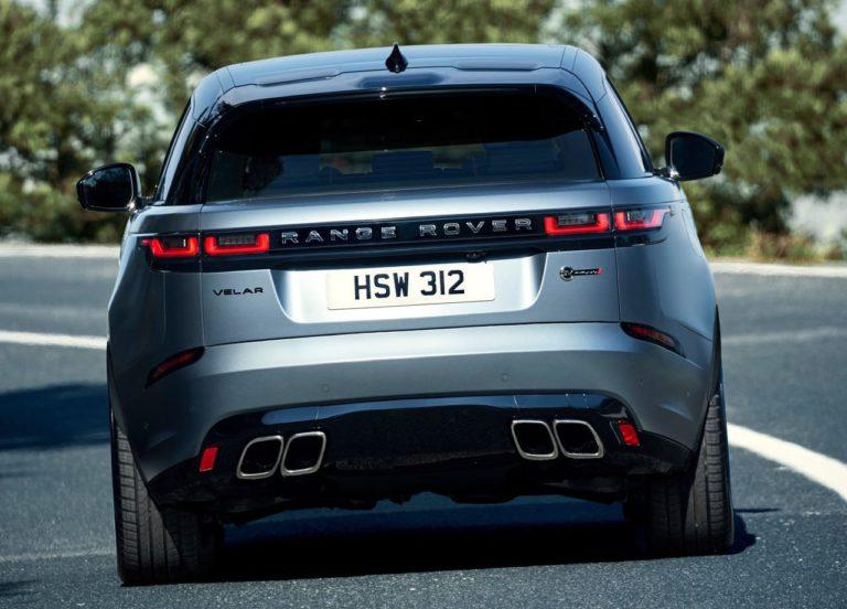 Range Rover Velar фото сзади