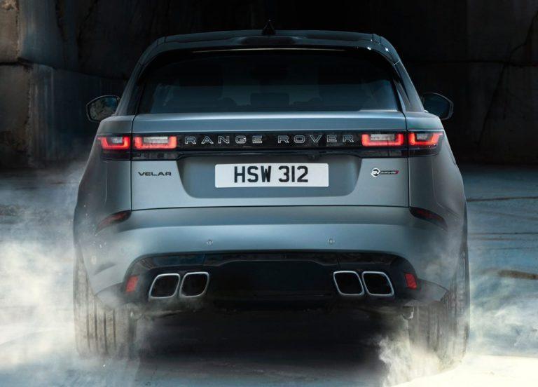 Range Rover Velar задний бампер