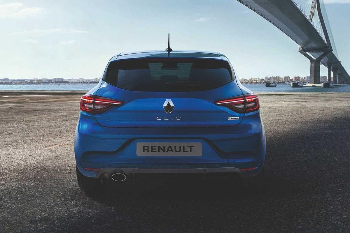 Renault Clio бампер