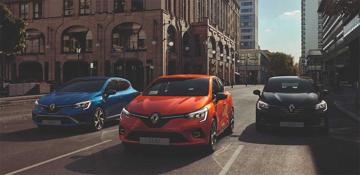 Renault Clio фото спереди