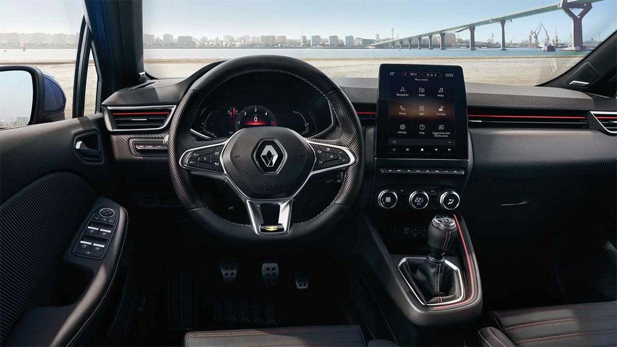 Renault Clio панель приборов