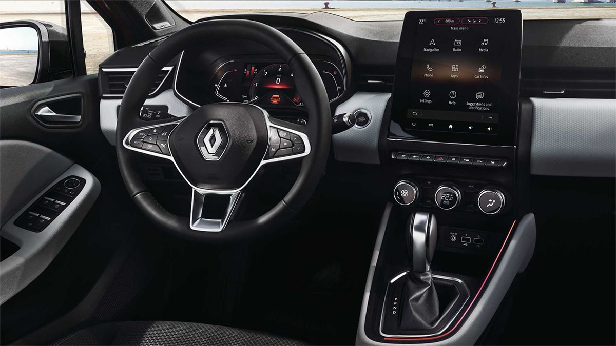 Renault Clio салон