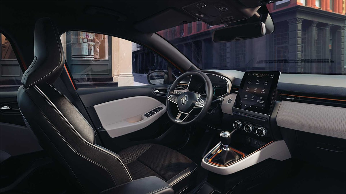 Renault Clio вид салон