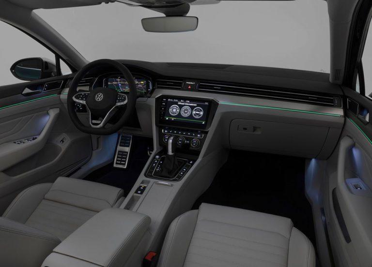 Volkswagen Passat B8 фото салон