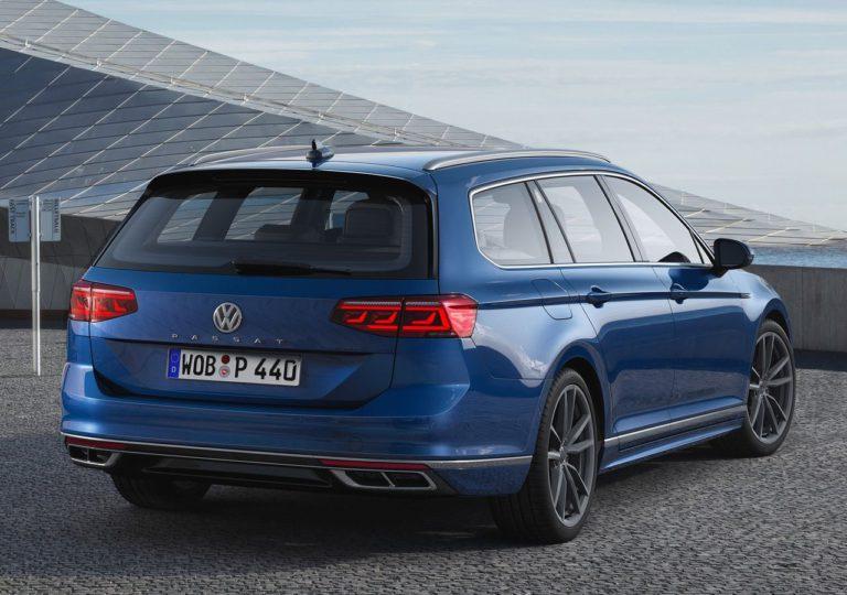 Volkswagen Passat B8 универсал вид сзади