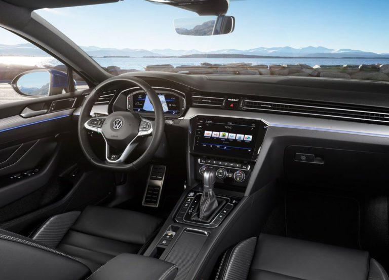 Volkswagen Passat B8 вид салон