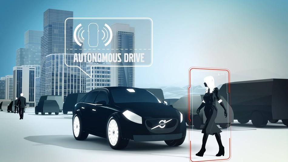 Автономные автомобили Ford с пешеходами