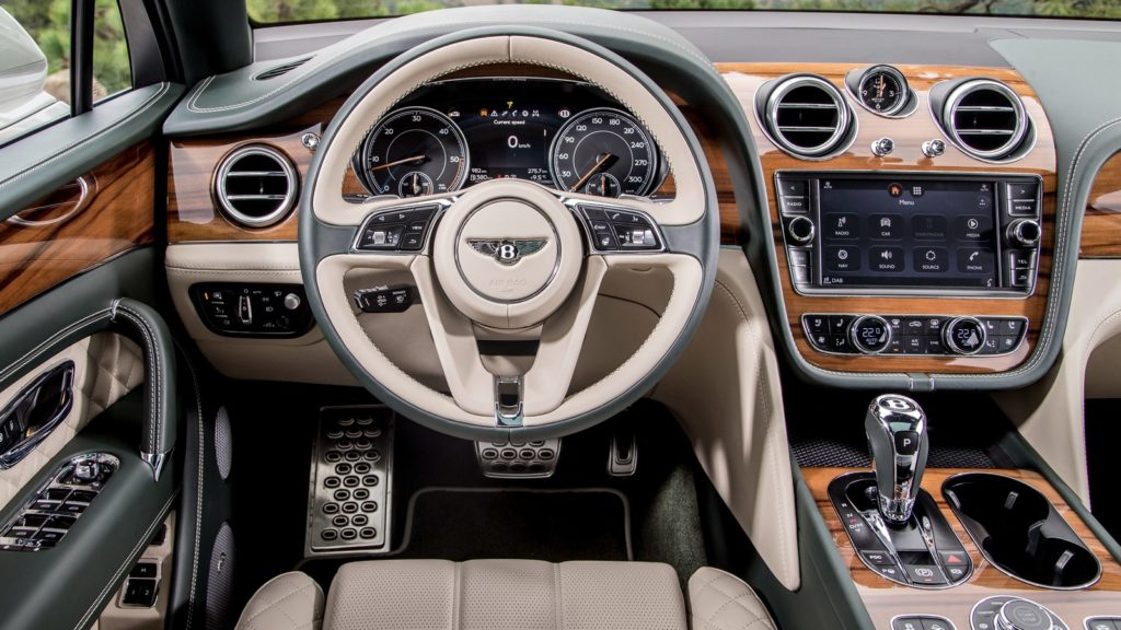 Bentley Bentayga Diesel салон