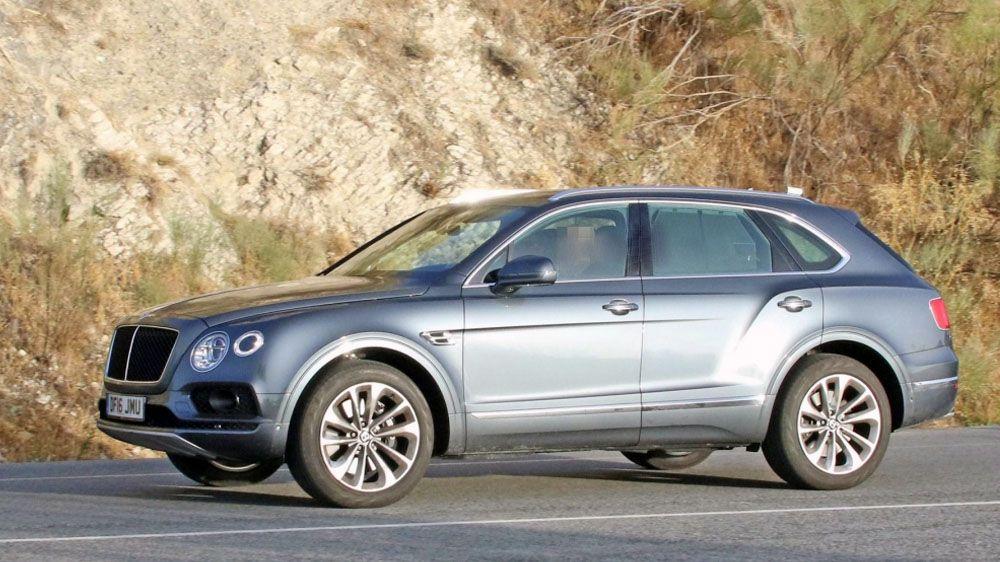Bentley Bentayga Diesel сбоку