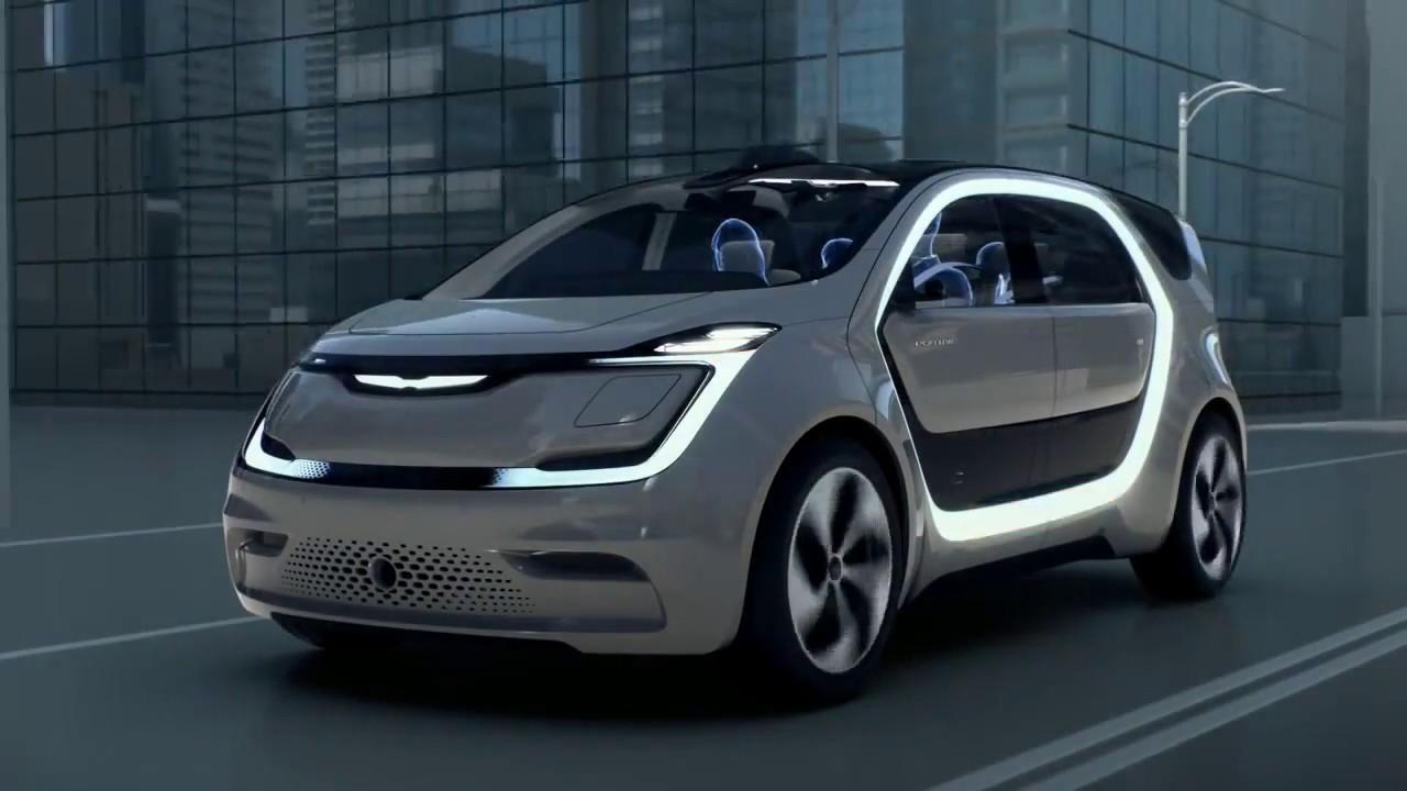 Dodge Caravan concept спереди