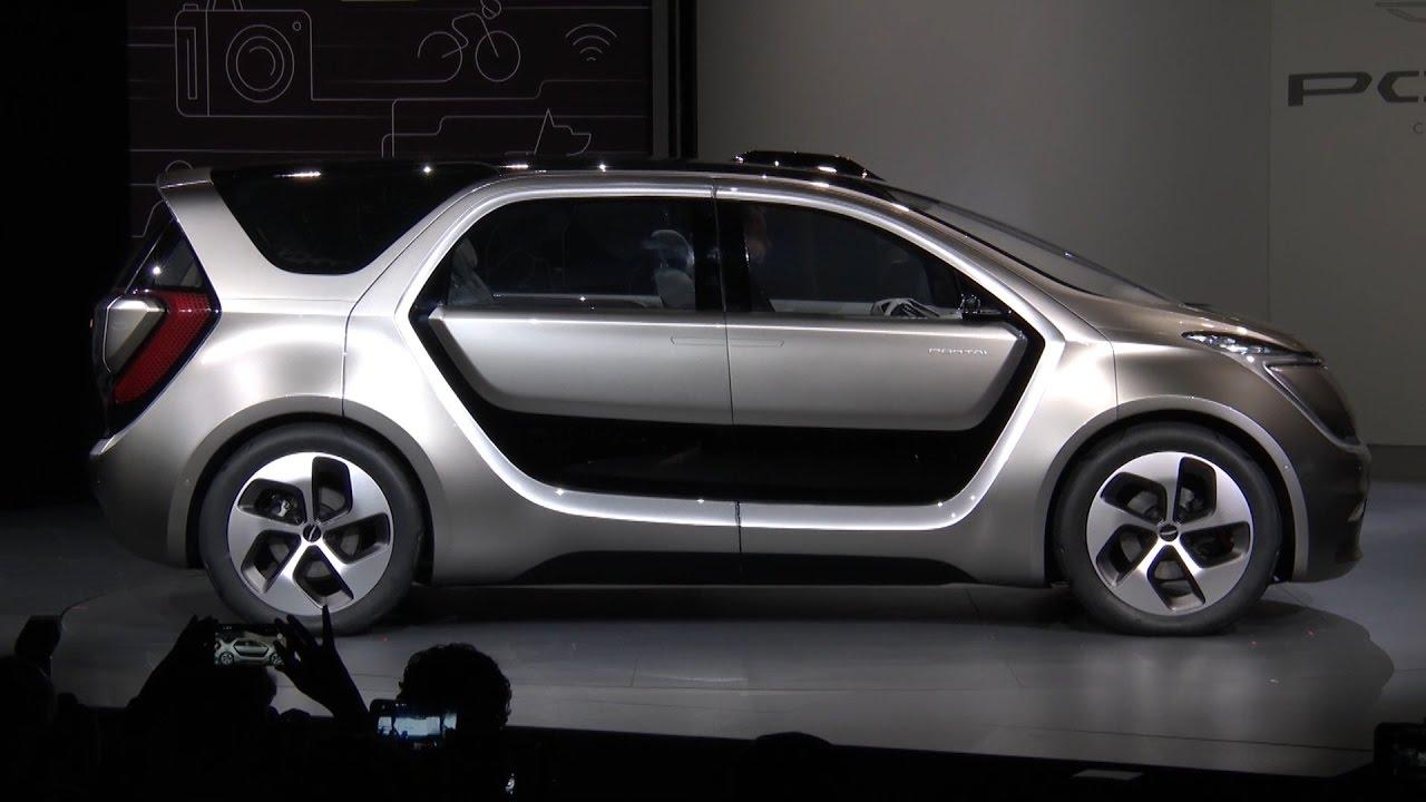 Dodge Caravan concept вид сбоку