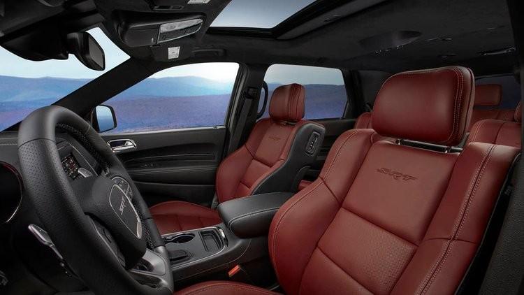 Durango SRT передние сидения