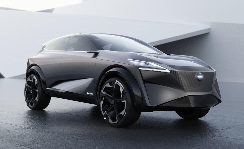 Nissan IMQ фото спереди