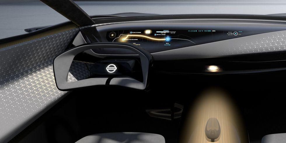 Nissan IMQ руль
