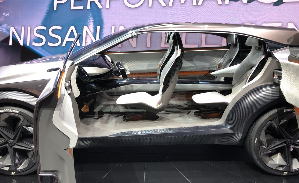 Nissan IMQ салон