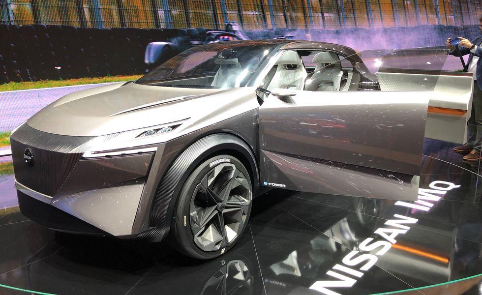 Nissan IMQ спереди