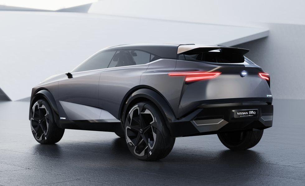 Nissan IMQ вид фото сзади