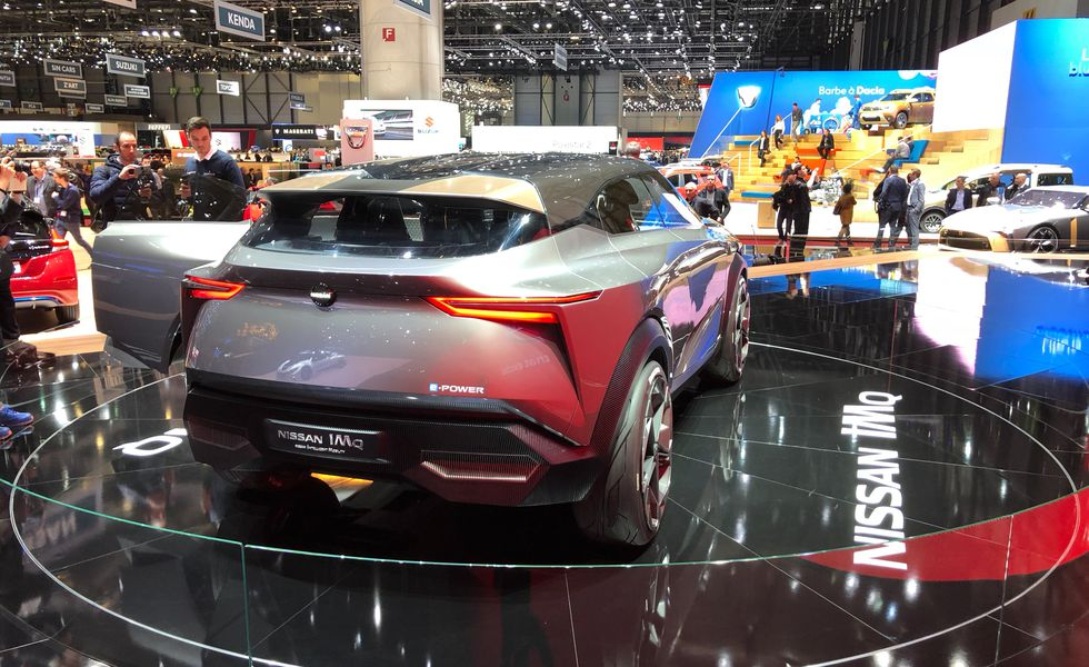 Nissan IMQ вид сзади