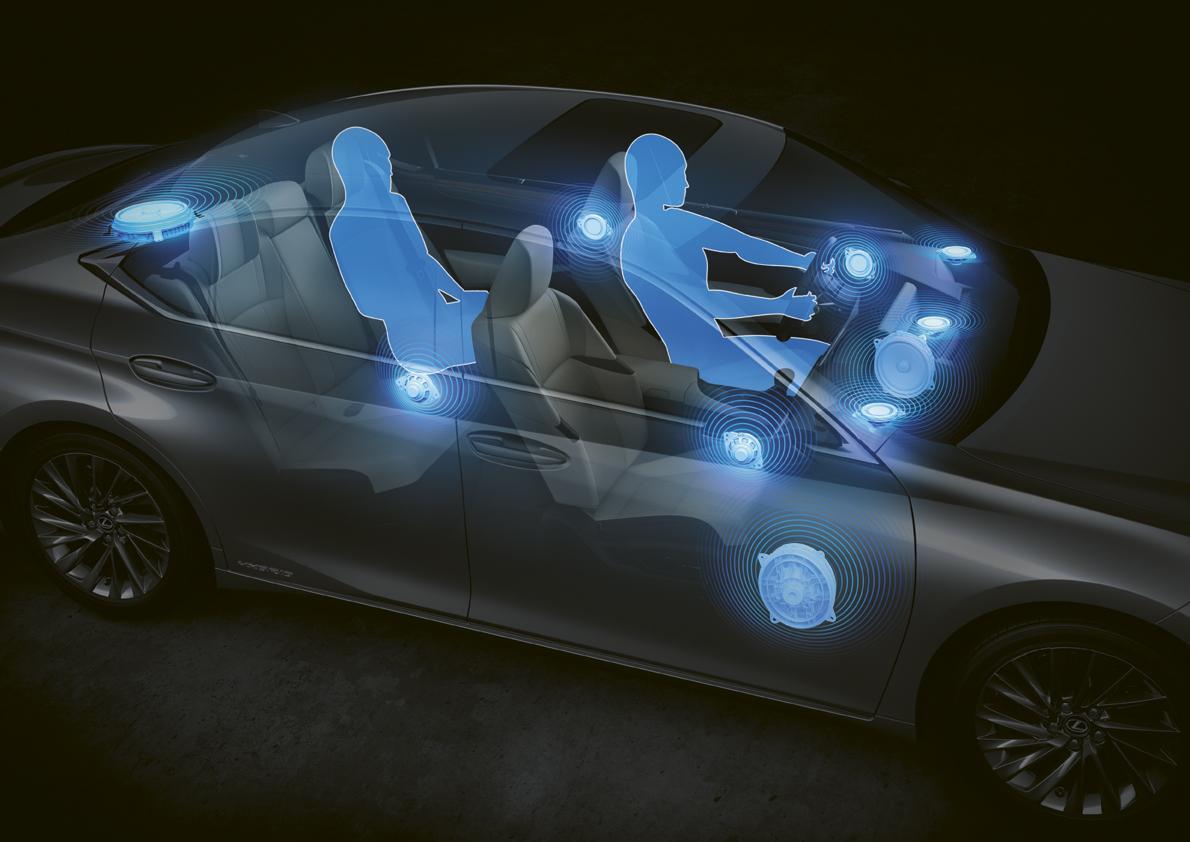 Новый Lexus ES звук