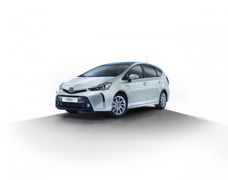 Prius - это семья из трех моделей