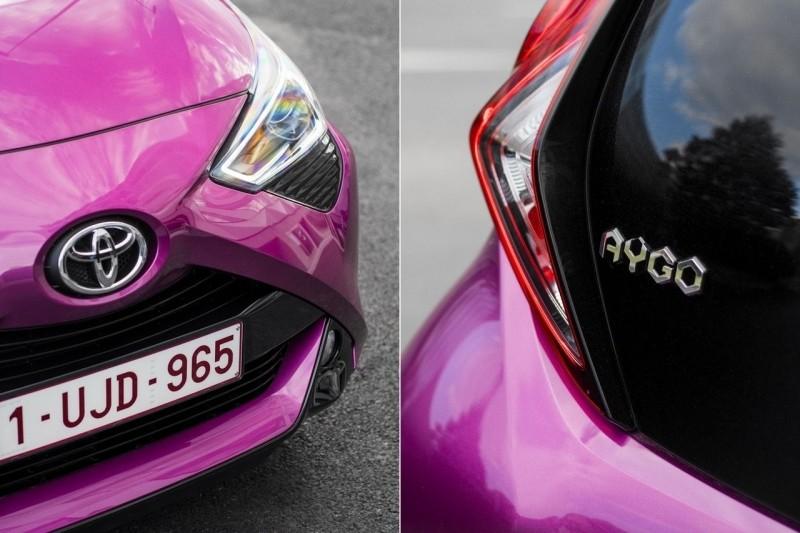 Тойота Айго детали кузова