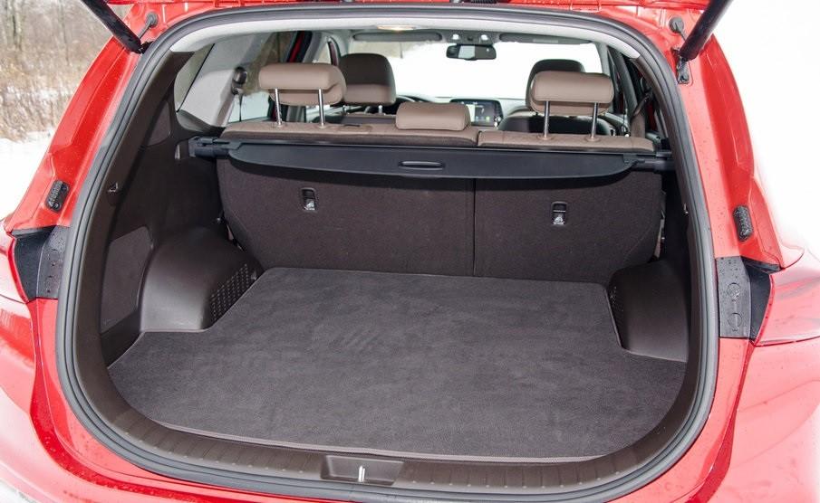 Hyundai Santa Fe 2.0 багажник