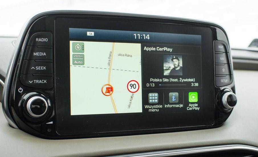Hyundai Santa Fe 2.0 монитор