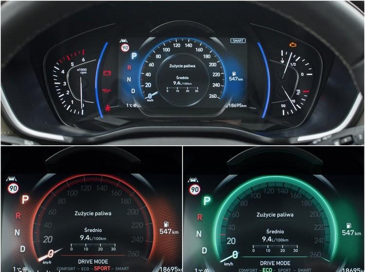 Hyundai Santa Fe 2.0 панель приборов