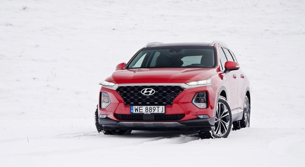 Hyundai Santa Fe 2.0 спереди