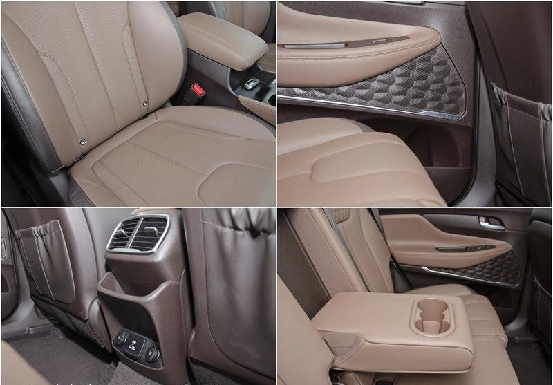 Hyundai Santa Fe 2.0 вид детали салона