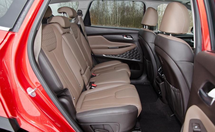 Hyundai Santa Fe 2.0 задние сидения