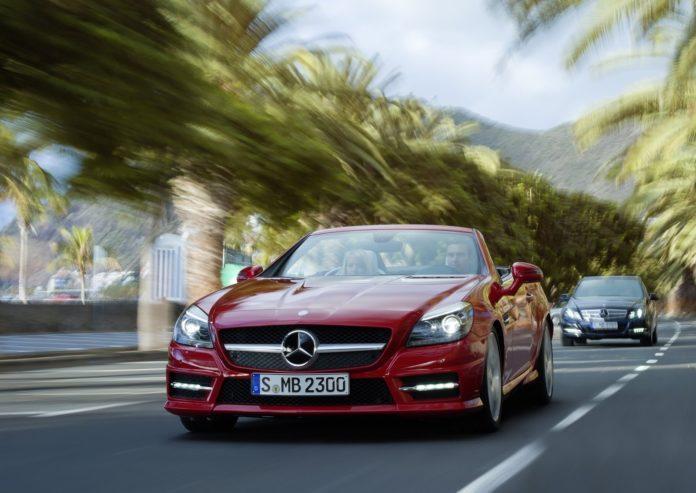 Mercedes SLK лучший