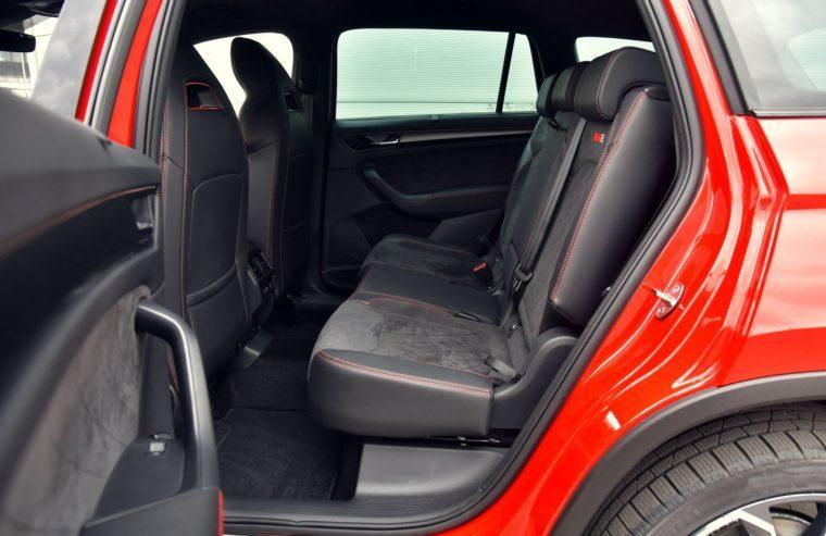 Задний ряд сидений Skoda Kodiaq RS