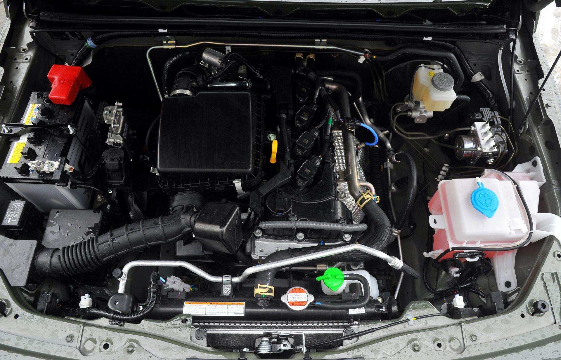Suzuki Jimny под капотом