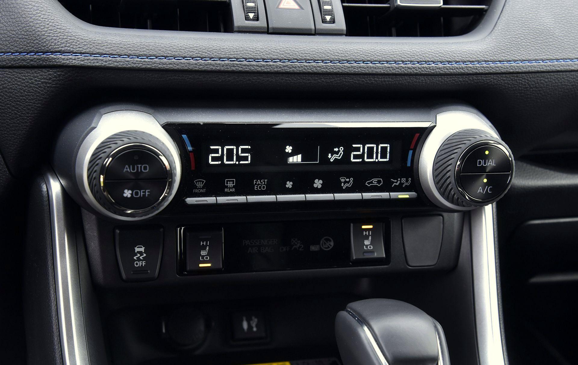 Toyota RAV4 2.5 кондиционер