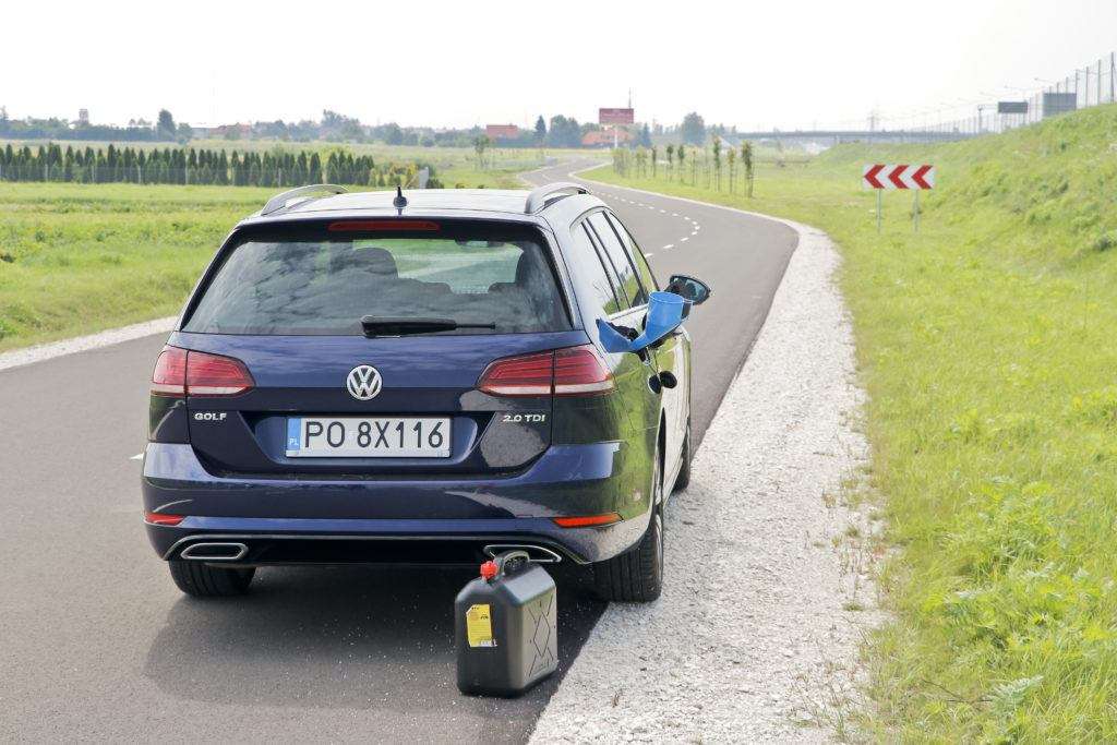 современный автомобиль с дизельным двигателем