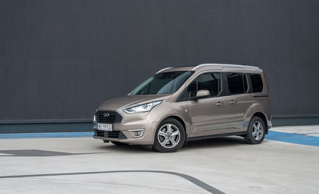 Тест Ford Tourneo Connect 1.5 EcoBlue с автоматической коробкой