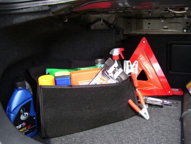 Багажник автомобиля в отпуск