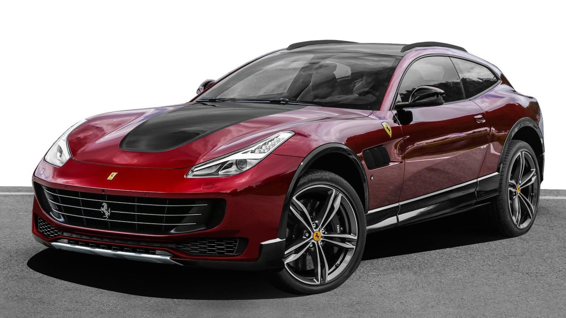 Ferrari джип