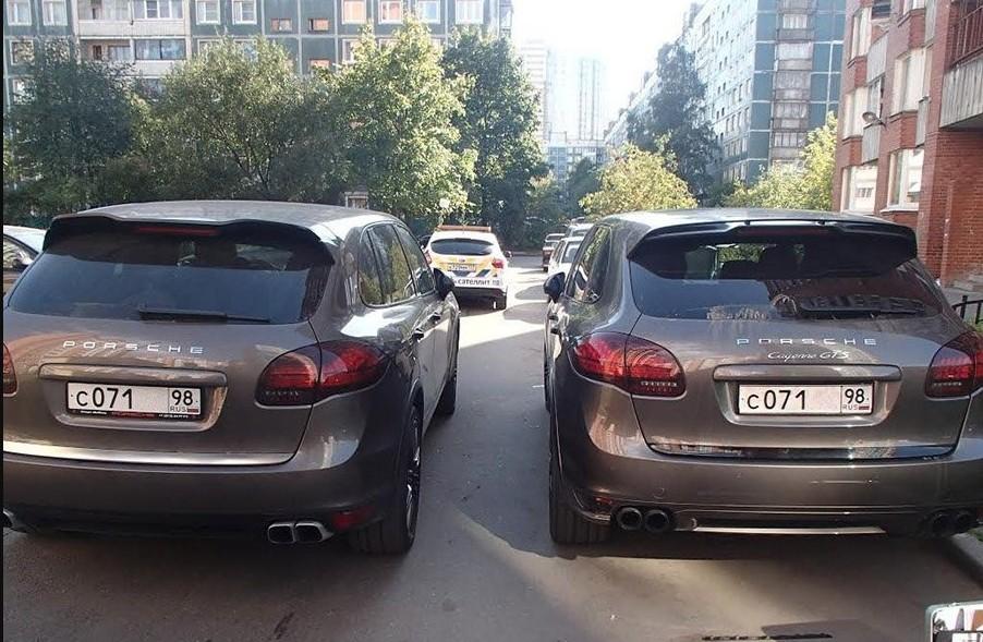 автомобиль двойник